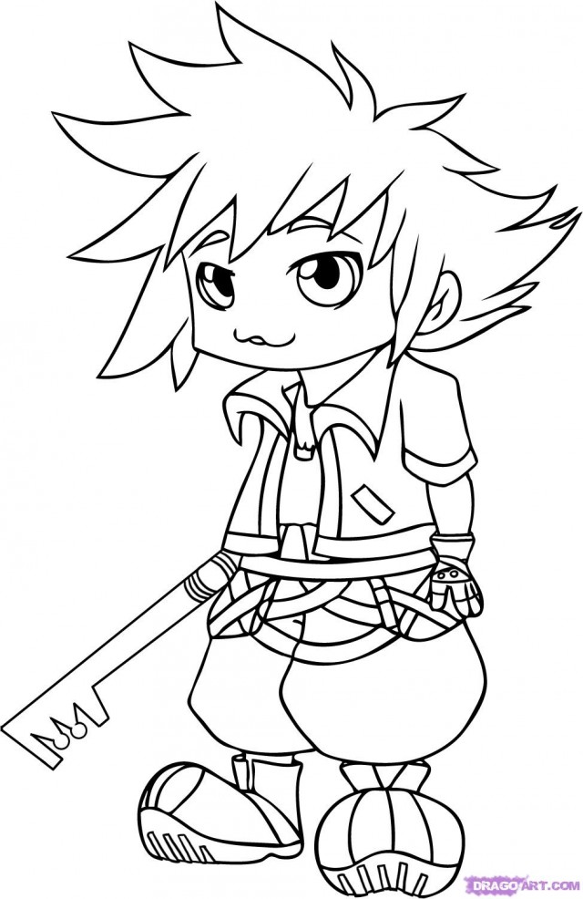 Kingdom hearts color pages az coloring pages for Kingdom hearts printable coloring pages