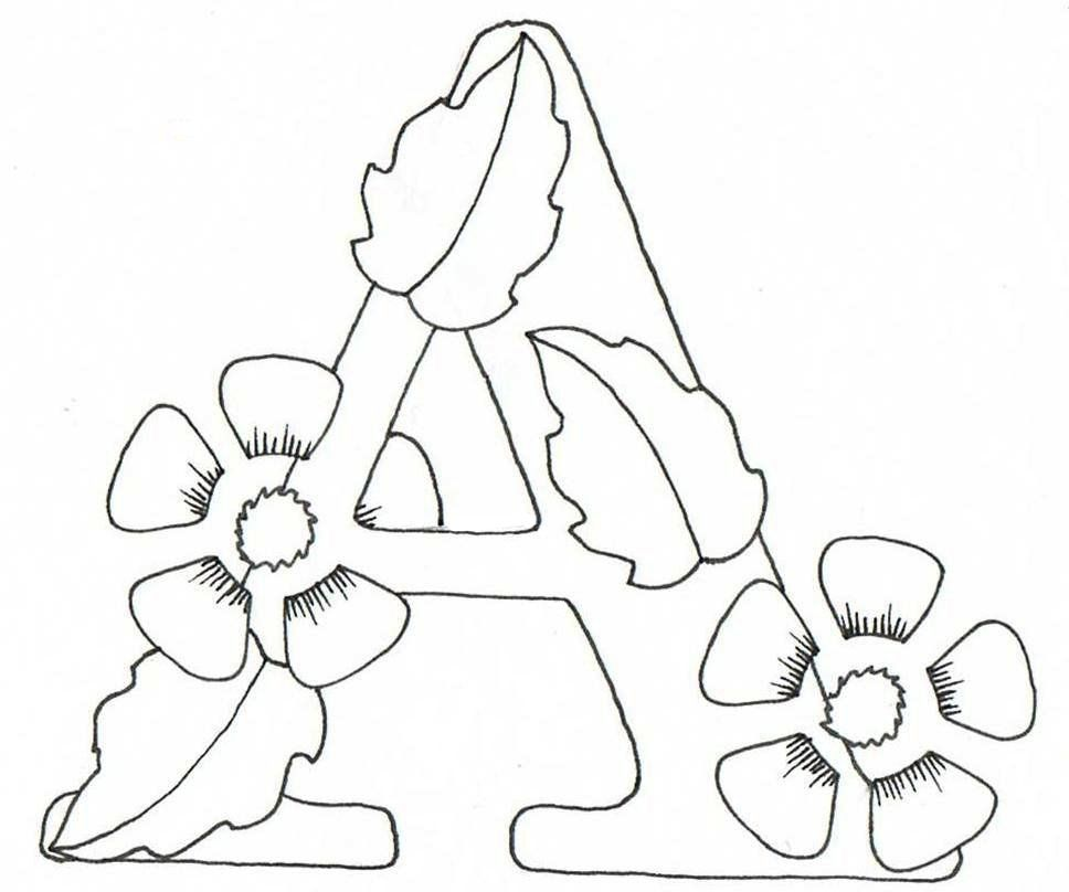 Detailed Alphabet Coloring Pages : Creative doodling with judy west detailed alphabet