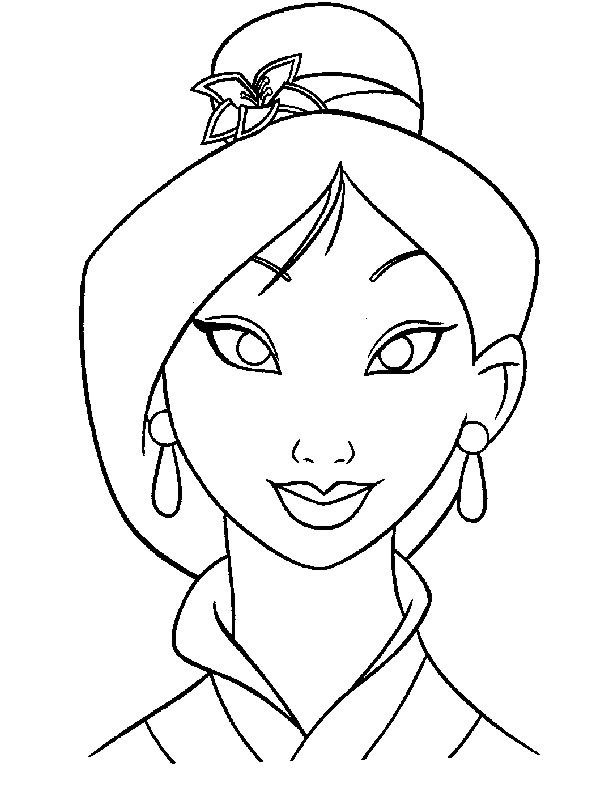 Disney Mulan Coloring Pages - AZ Coloring Pages