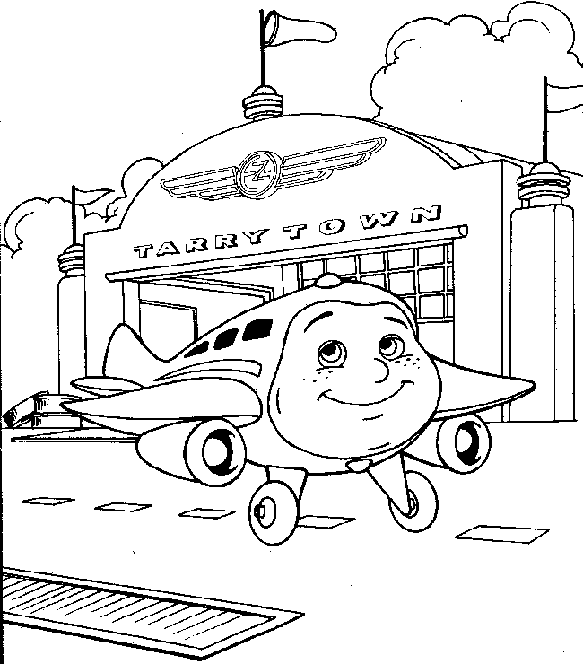 old planes coloring pages - photo#30