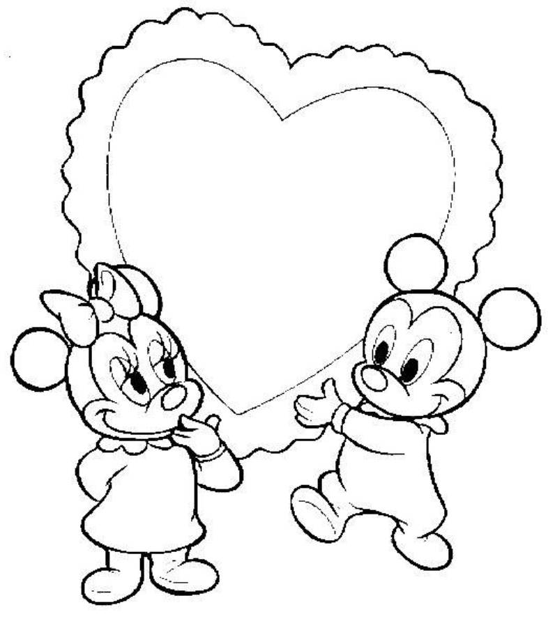 Disney Love Coloring Pages - Coloring Home