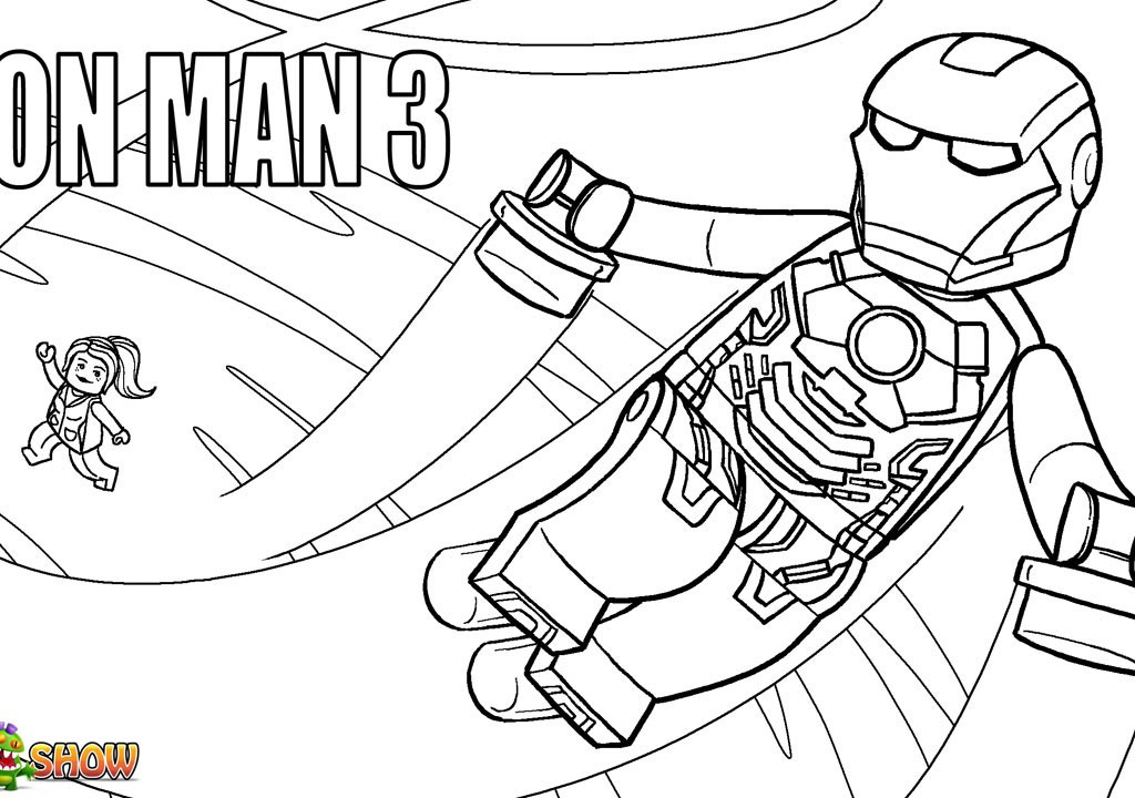 lego avengers coloring pages - photo #33