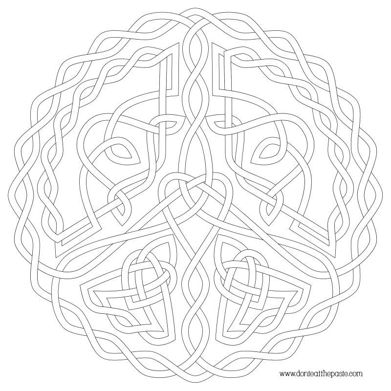 celtics coloring pages - photo#22