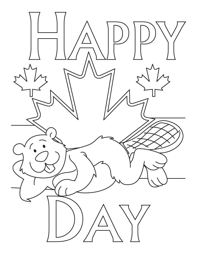 Most comfortable place to live in Canada coloring pages | Download
