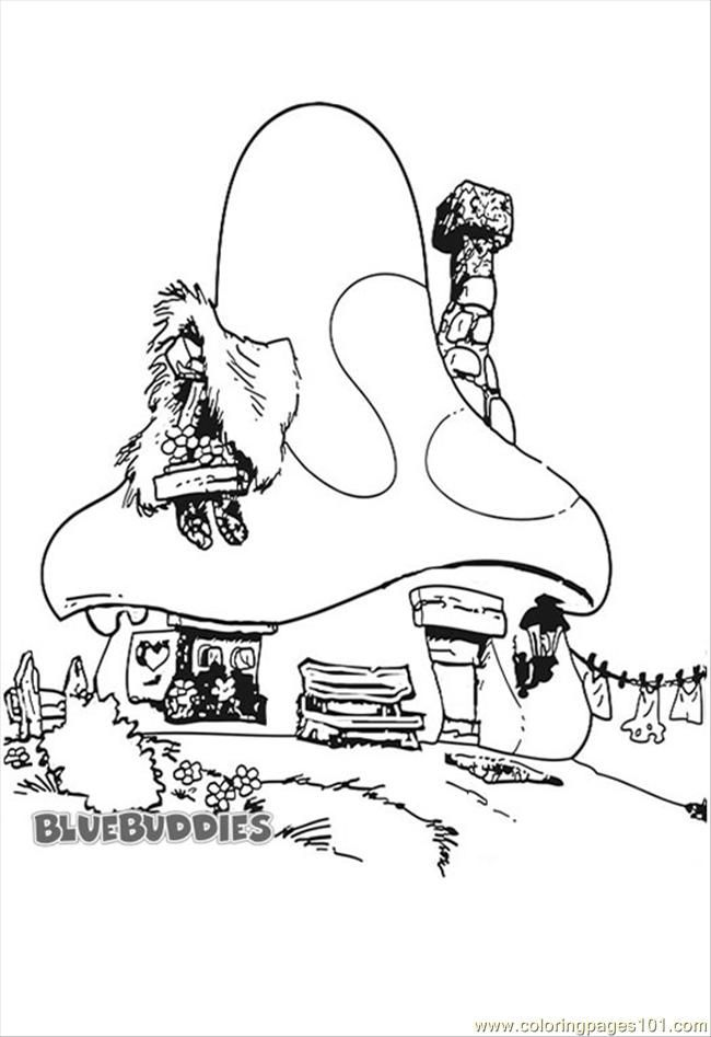 Search Results » Smurf House Coloring Pages