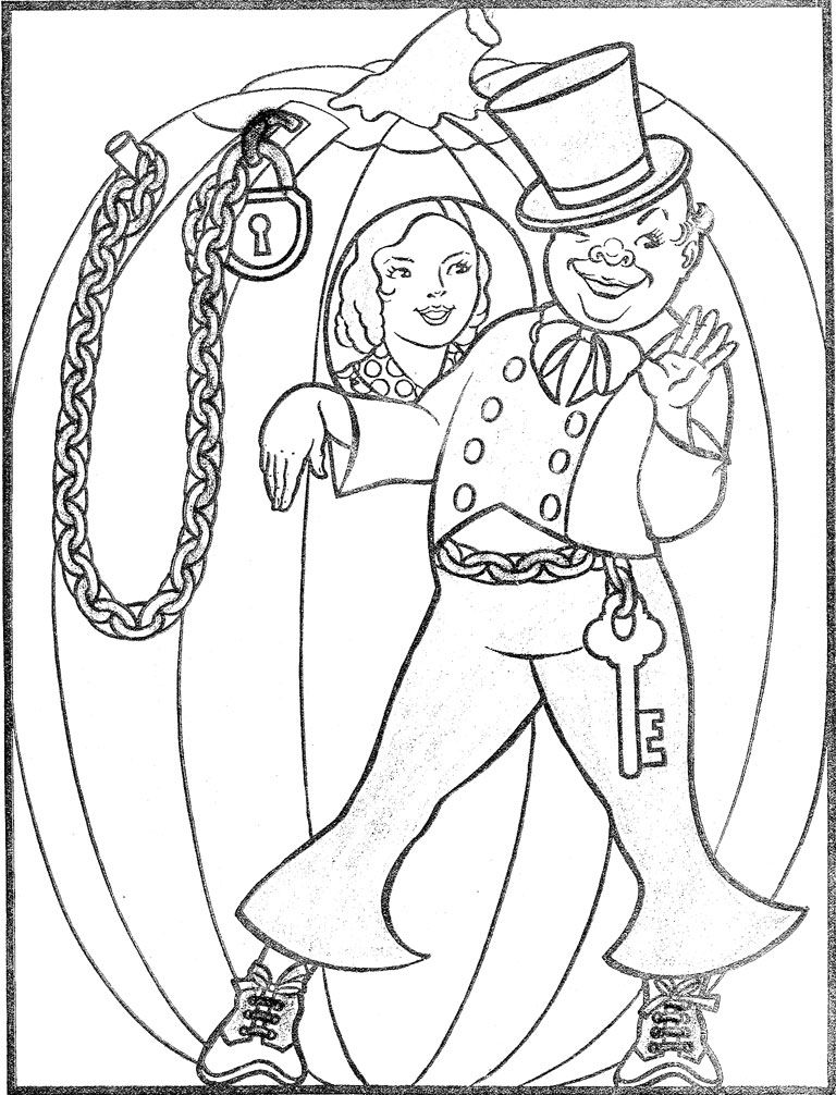 Peter Peter Pumpkin Eater Coloring Page Coloring Home Pumpkin Eater Coloring Page