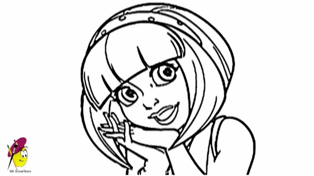 Lazytown coloring pages az coloring pages for Lazy town coloring pages
