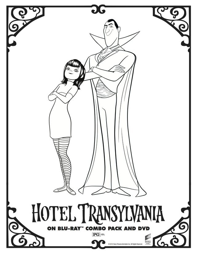 coloring pages of hotel - photo#22