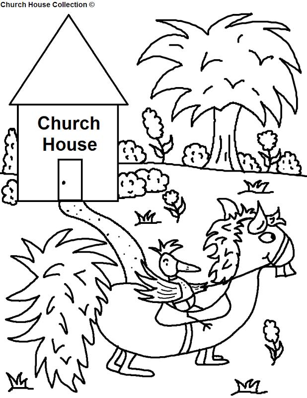 Preschool Church Coloring Pages Preschool Church Coloring Pages Sketch Coloring Page