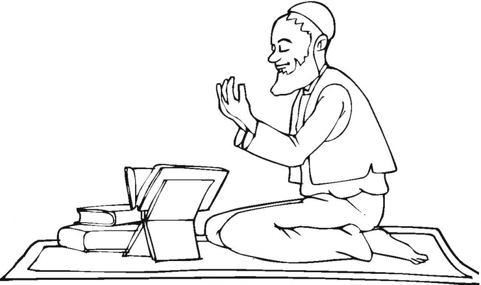 Muslim Coloring Pages