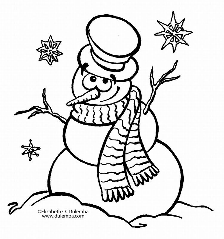 Free Printable New Years Eve Coloring Pages