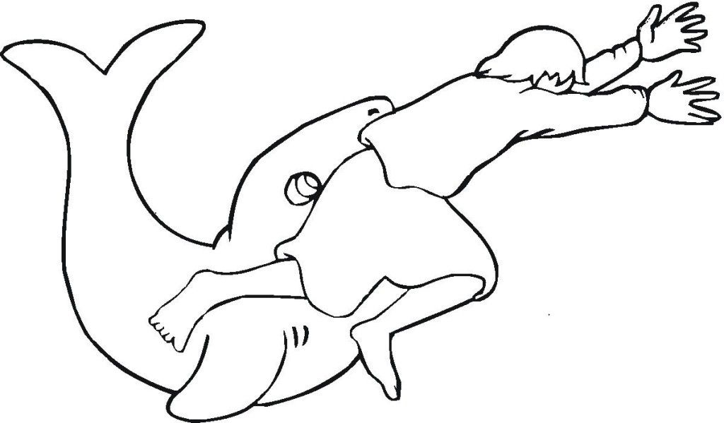 Jonah Bible Coloring Pages - Costumepartyrun