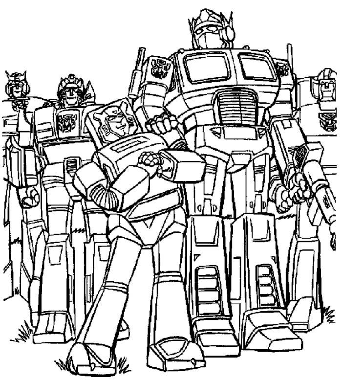 Bumblebee Transformer Coloring Pages - Coloring Home