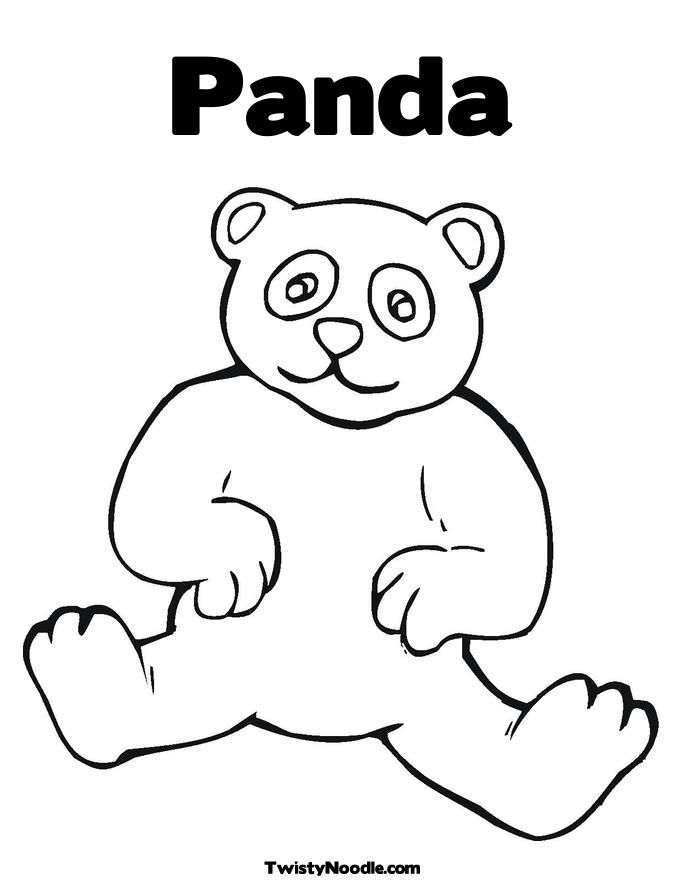 panda bear coloring page  az coloring pages, printable coloring