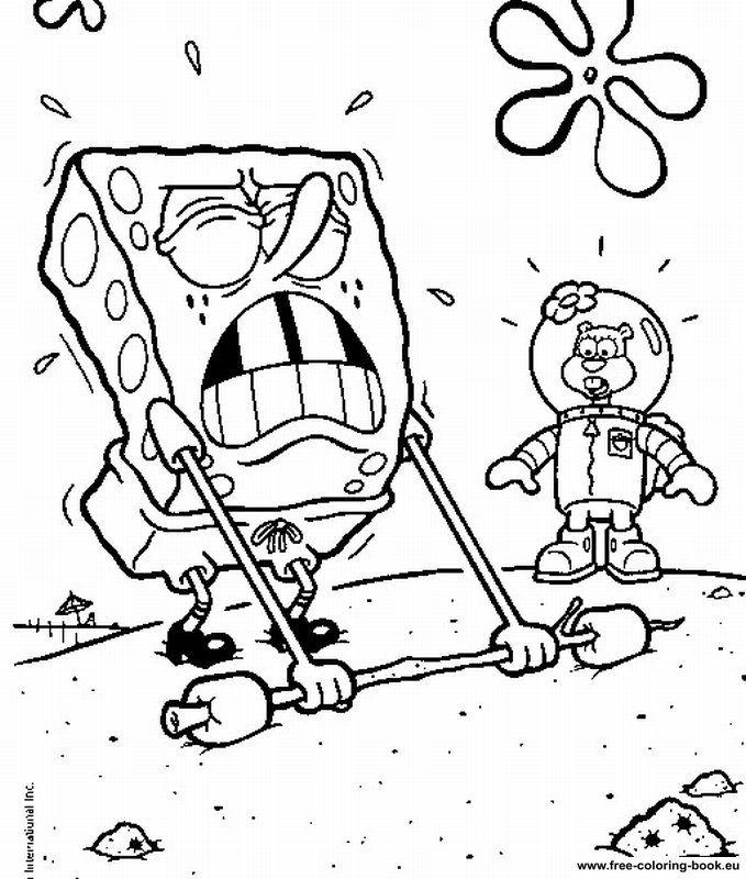 Coloring pages SpongeBob - Page 1 - Printable Coloring Pages Online
