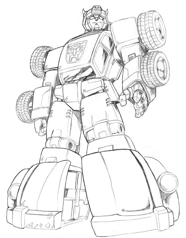 Bumblebee Transformers Coloring Pages Coloring Home