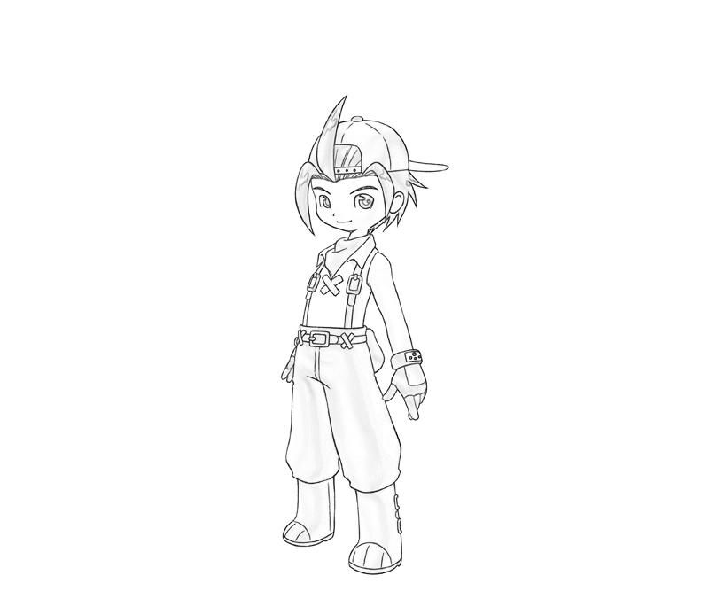 Harvest Moon Coloring Pages Harvest Moon Jack Funny |