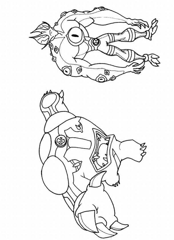 Search Results » Ben Alien Force Coloring Pages