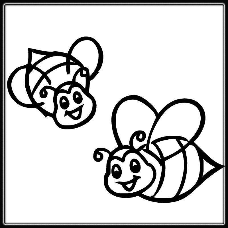 Bumble Bee Honey Coloring Page Bumble Bee Coloring Pages