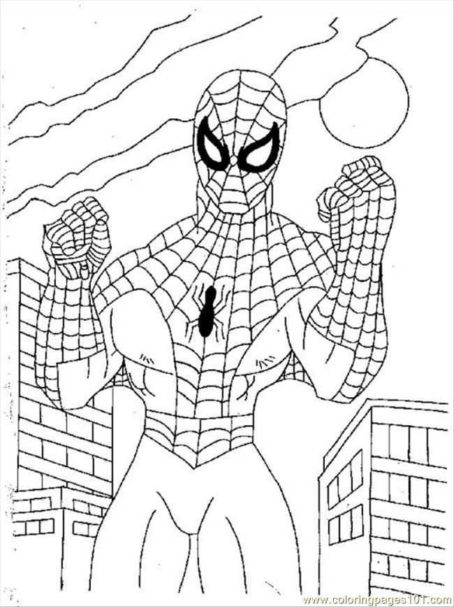 spiderman coloring pages pdf
