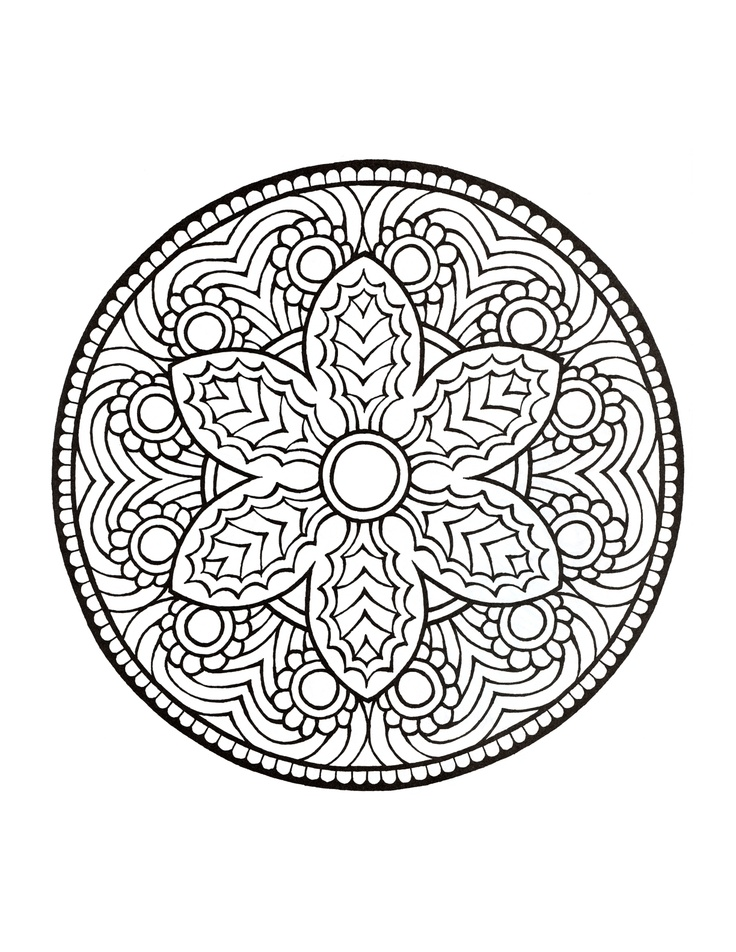 Mandala Coloring Pages Pdf