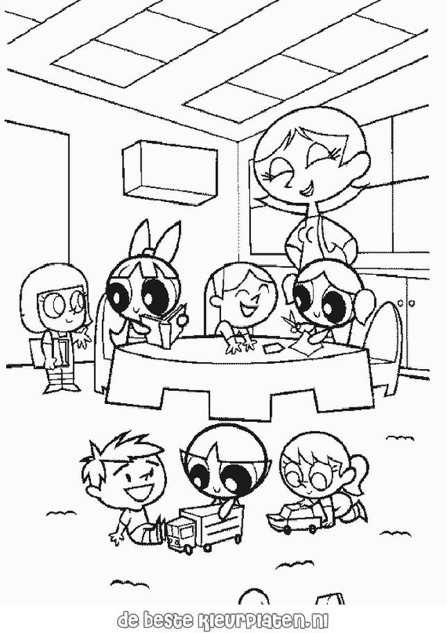 PowerPuffGirls027 - Printable coloring pages
