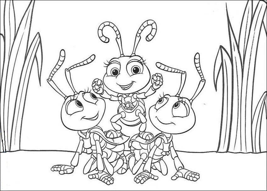 Cute Bug Pictures AZ Coloring