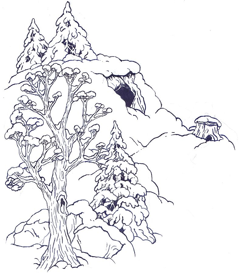 Jan brett the mitten coloring pages coloring home for Background coloring pages