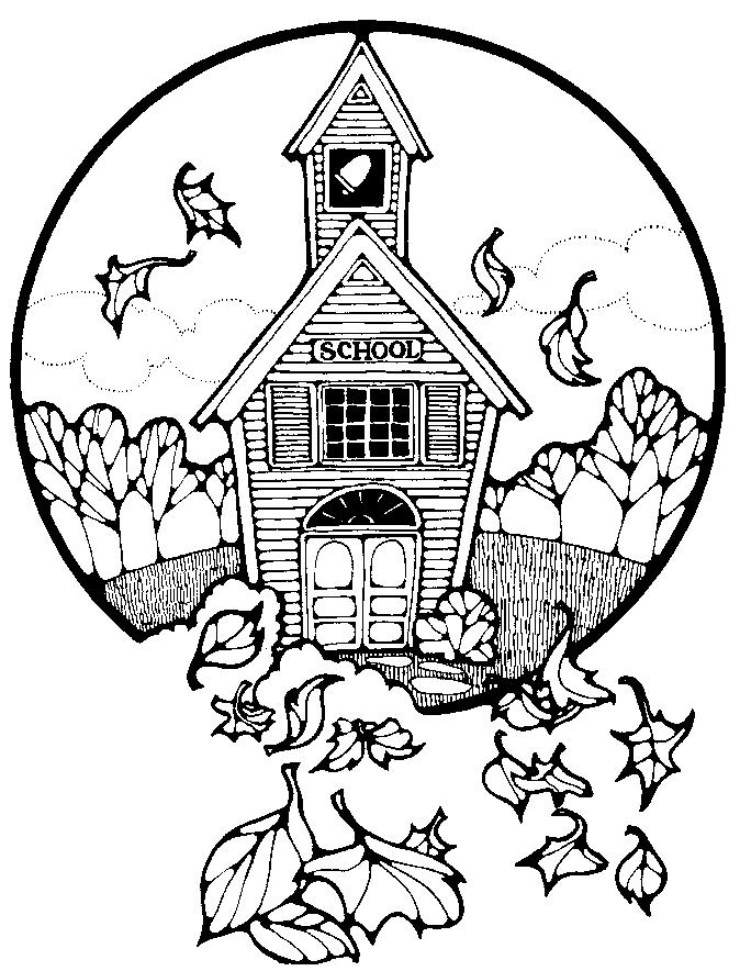 Back To School Coloring Sheets Printable  Coloring Home