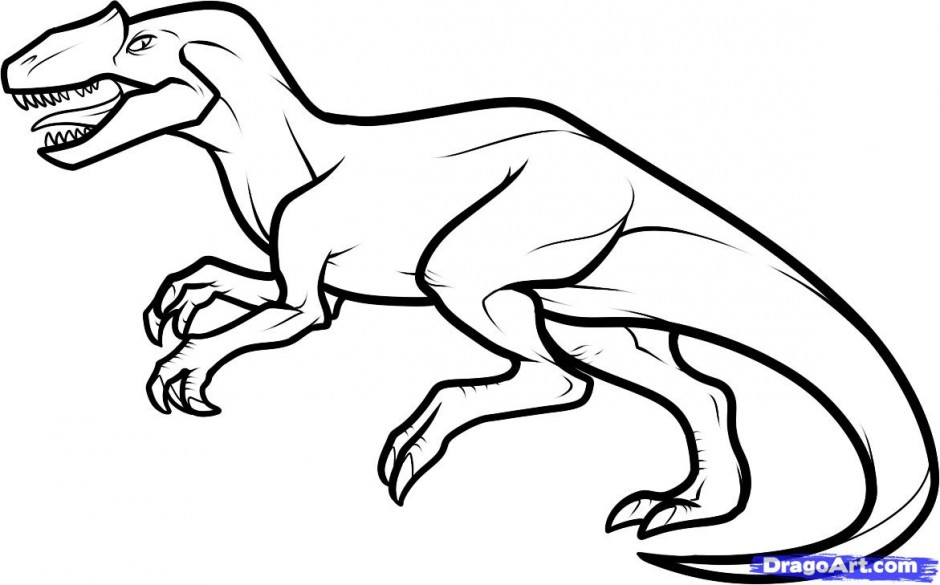T Rex Coloring Pages AZ Coloring Pages
