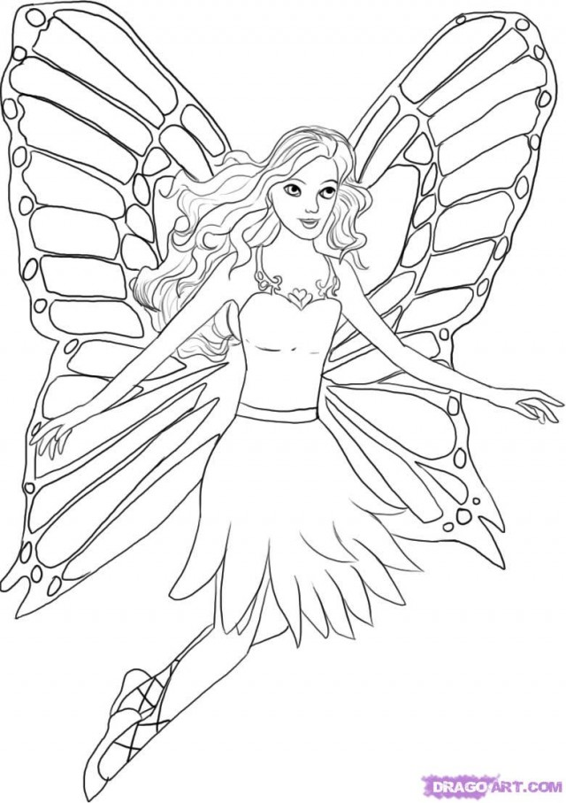 Barbie Fairytopia Mermaidia Coloring Pages - AZ Coloring Pages
