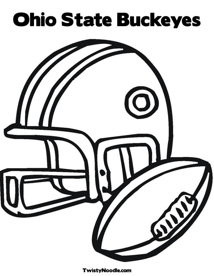 ohio state coloring pages - brutus buckeye coloring page coloring home
