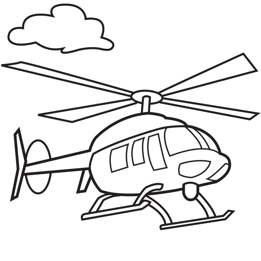 Police color pages az coloring pages for Police helicopter coloring page