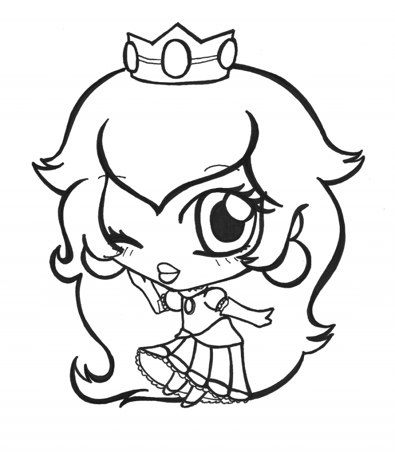 Peach Coloring Page Coloring