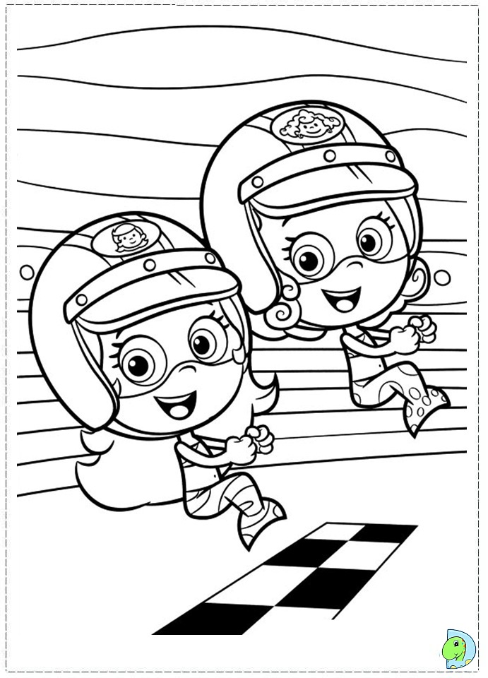 Bubble Guppies Coloring Pages For Kids Az Coloring Pages Guppies Coloring Pages