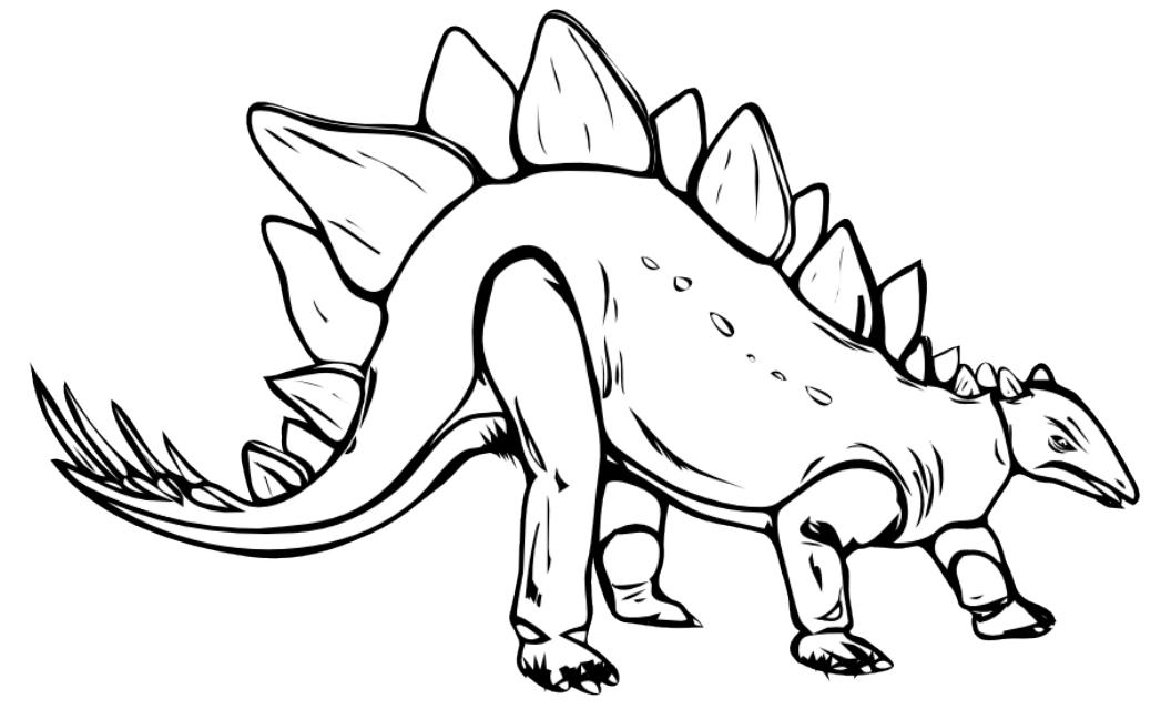 Stegosaurus Coloring Page Az Coloring Pages Stegosaurus Coloring Pages