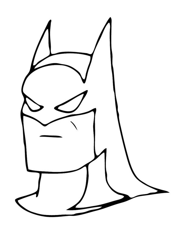 free bat signal coloring pages - photo#40