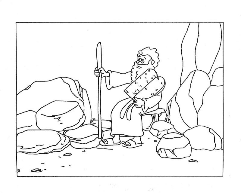 Ten commandments coloring pages az coloring pages for 10 commandment coloring pages