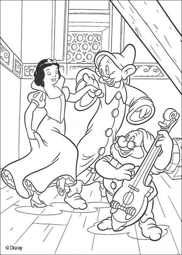 Snow White Printable Coloring Pages