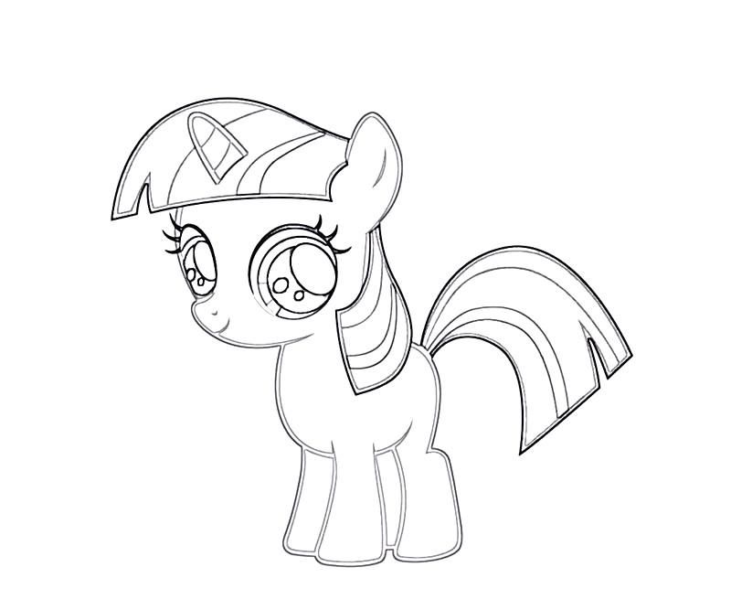 twilight sparkle pony coloring pages - photo#45