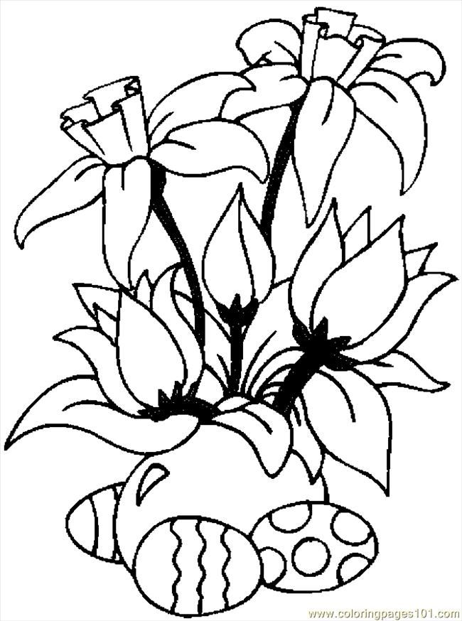 Flower Vine Pages Coloring Pages
