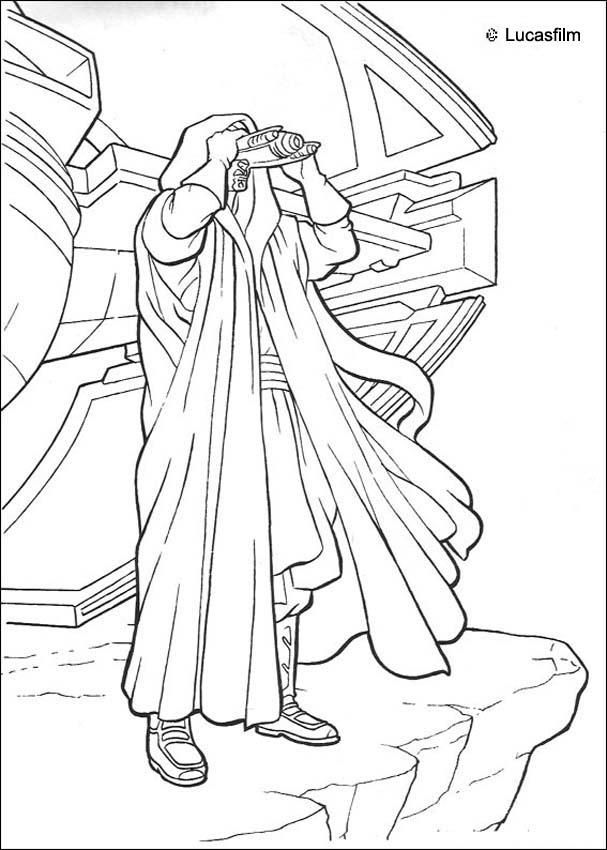 Disney Coloring Pages Star Wars : Star wars coloring book pages home