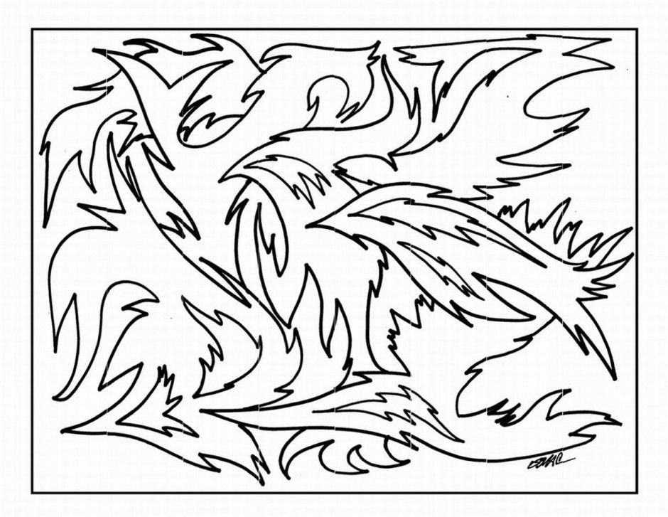 crazy coloring pages for adults - photo#23
