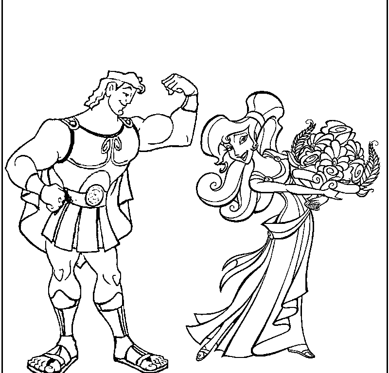 Hades Coloring Page - Coloring Home