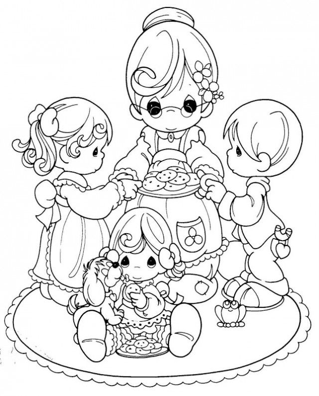 - Free Printable Precious Moments Coloring Pages - Coloring Home