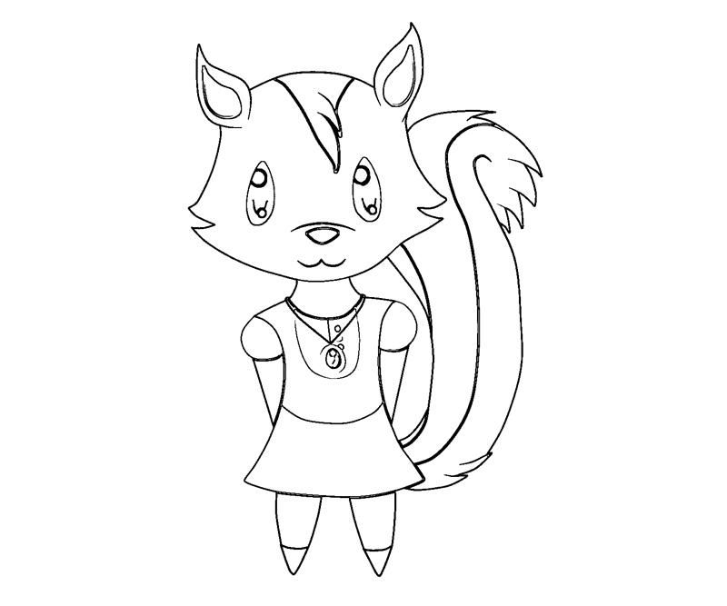 animal crossing coloring pages - Animal Crossing Coloring Pages