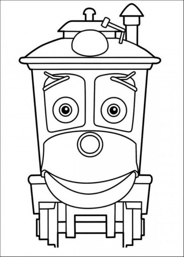chuggington coloring book pages - photo#32