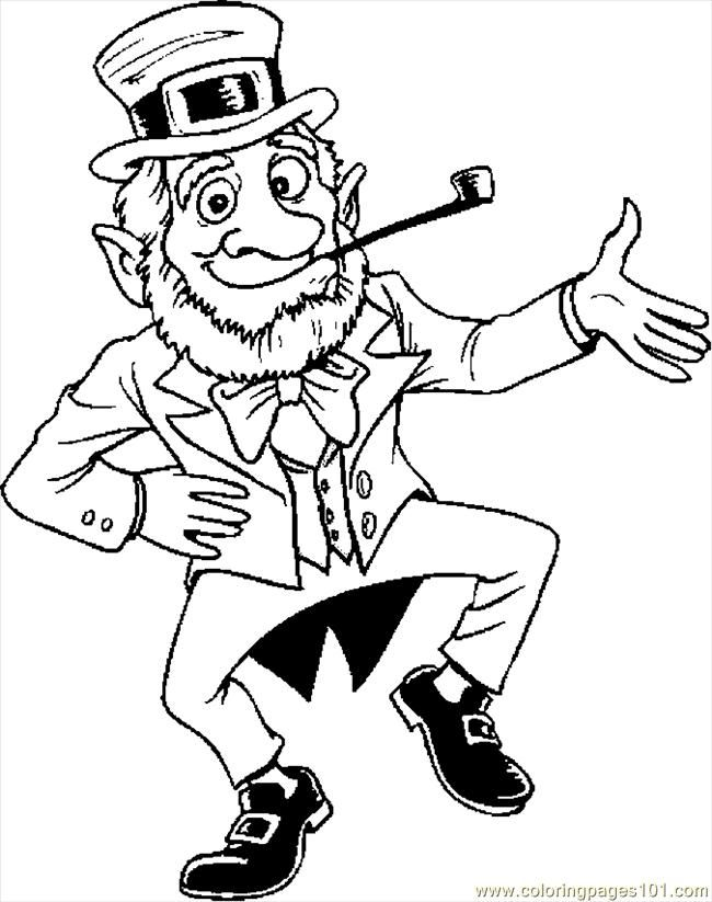 Irish Dance Coloring Pages - Coloring Home