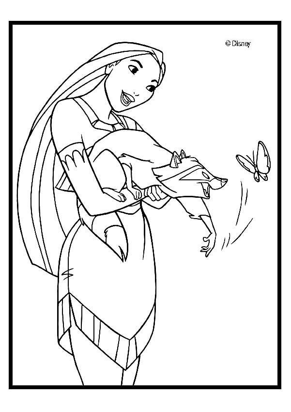 disney princess coloring pages pocahontas printable coloring