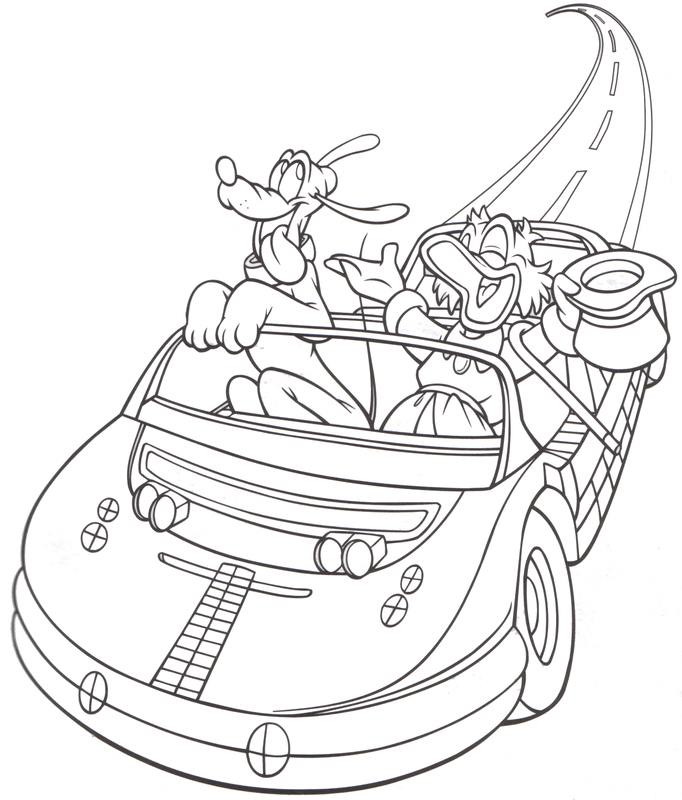 disneyland coloring pages printable - photo#11